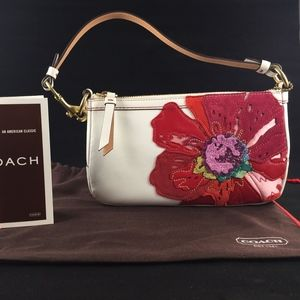 "COACH Handbag ""Poppy for Peace"" Limited Edition"